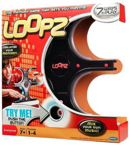 Mattel W4711 - Radica Loopz, Musik- und Geschicklichkeitsspiel