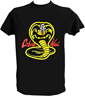 UZ Design Camiseta Cobra Kai Hombre Niño Fan Art Miyagi Do Karate Kid Peliculas 80