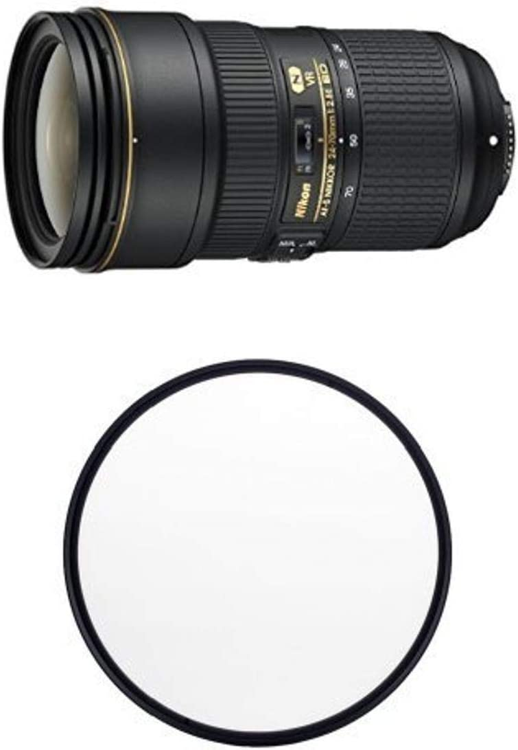 Nikon AF-S FX NIKKOR 24-70mm f 2.8E ED Lens Auto Fo VR Zoom with 25% OFF Quantity limited