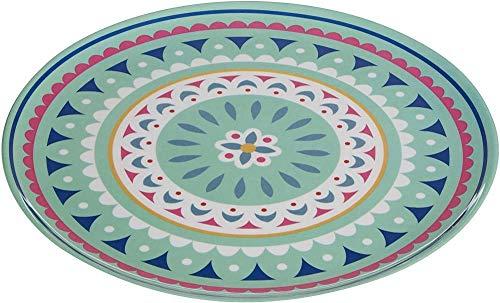 Premier Housewares Platollano de melaminamulticolor25 x 25 x 1 cm