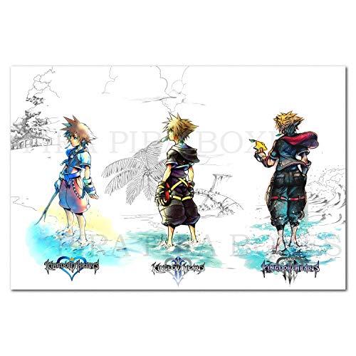 Printing Pira Kingdom Hearts III Poster - Sora Exclusive Art (13x19)