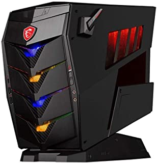 MSI Aegis 3 PC (Intel i5 8400 2.8 GHz, 8 GB de RAM, 2 TB SSD Plus 128, NVIDIA GeForce GTX 1060 Graphics, Windows 10 Home)