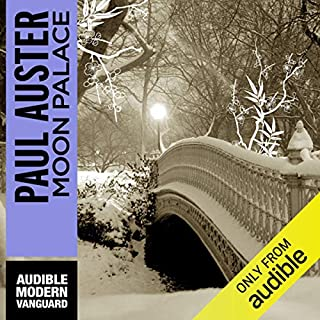 Moon Palace audiobook cover art