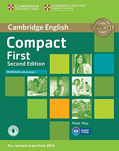 Compact First Workbook with answers CD: Poziom B2 [Lingua inglese]