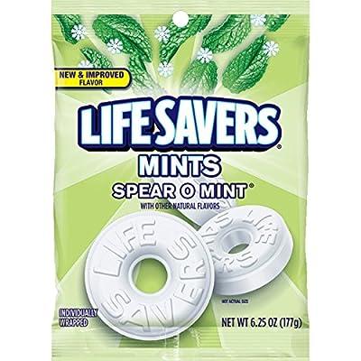 Life Savers Wint O Green Sugarfree Mints Candy Bag
