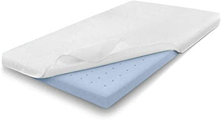 Comfort & Relax 2 Inch Gel-Infused Memory Foam Mattress Topper,  Plush Cover,  AirCell-Tech,  Twin XL