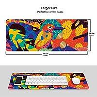 鳥柄 マウスパッド キーボードパッド 滑らかマウスパッド ゲーミングパッド 大型 オフィス 家庭用