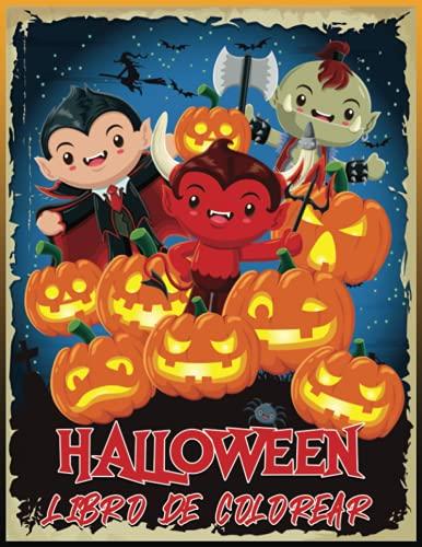 Halloween Libro De Colorear: Libro Para Colorear Para Niños Con 30 Dibujos Unicos De Halloween | (Halloween Libro De Colorear Para Niños )