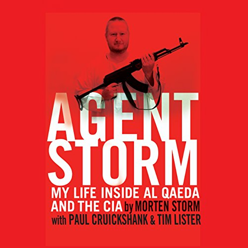 Agent Storm audiobook cover art