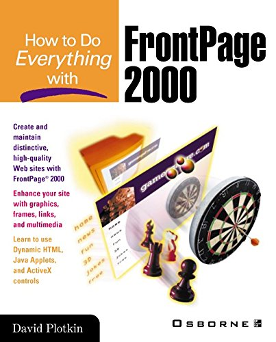 How to Do Everything with FrontPage 2000 (English Edition)