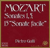 MOZART/ SONATAS 1,5,15
