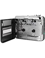 Exliy Reproductor de Cassette, Reproductor de música de Audio Walkman con Cable USB, Reproductor de música de Audio Walkman Convertidor de Casete a MP3, Adecuado para Windows2000 / XP/Vista /