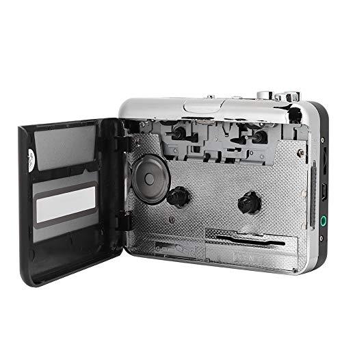 Vbestlife Reproductor de Cassette, Reproductor de música de Audio Walkman con Cable...