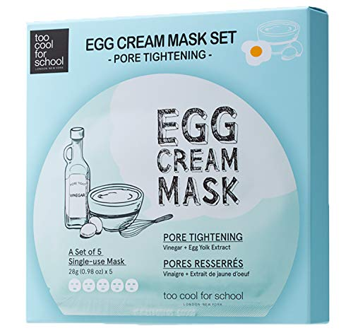 Too cool for school EGG CREMA MASCHERA PORE SERRAGGIO SET