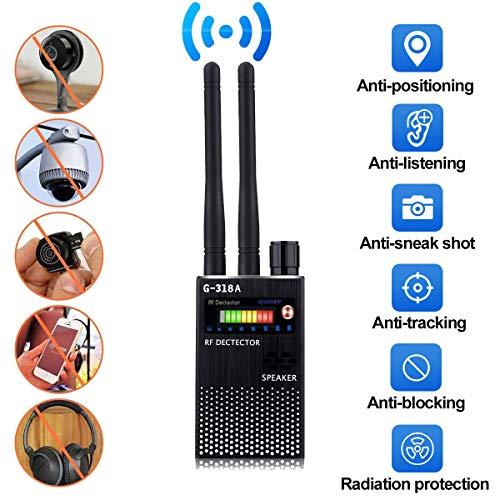 Anti Espía Inalámbrico RF Señal Detector Bug GPS Cámara Radar Radio Escáner CDMA Descubridor