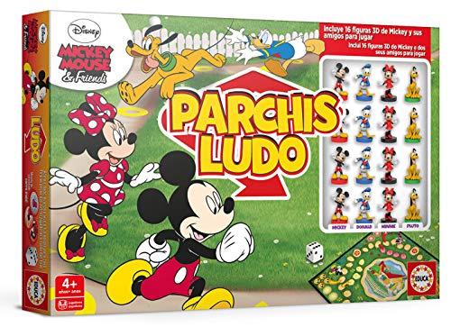 Educa Borrás- Parchís Ludo Mickey y...