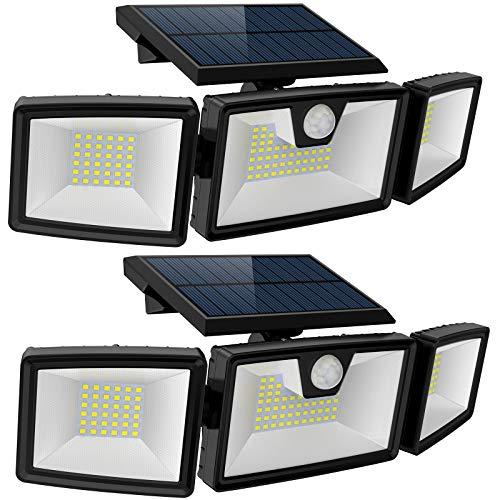 solar powered led flood light - 3