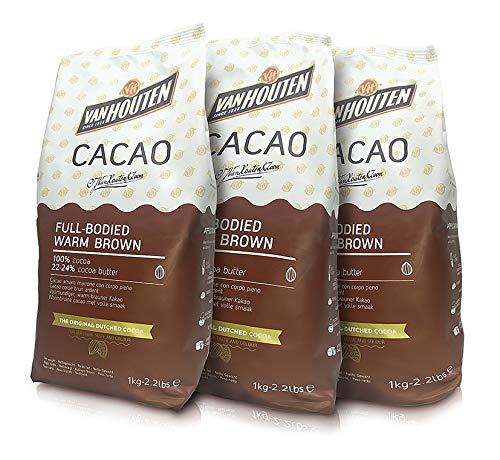 Cacao Callebaut van houten 3 pacchi da kg1 cad