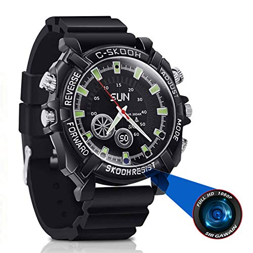 Mliyam Spy Watch gadget with Night Vision Camera