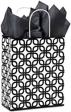 CARRIER BLACK GEO GRAPHICS Sale Special Price RecycledPaper Spasm price MINI-PK 10x5x13
