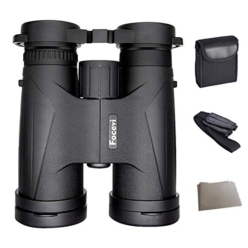Super Waterproof Lightweight BAK4 Zoom Compact Binoculars for Adults/Kids,10x42 High Power Long Distance Binoculars for Hunting Bird Watching Opera Travel Theater Stargazing Telescope vinoculares