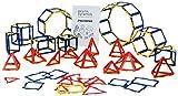 Polydron 10-3067F - Juego de marcos para prisma y pirámide (12 unidades)