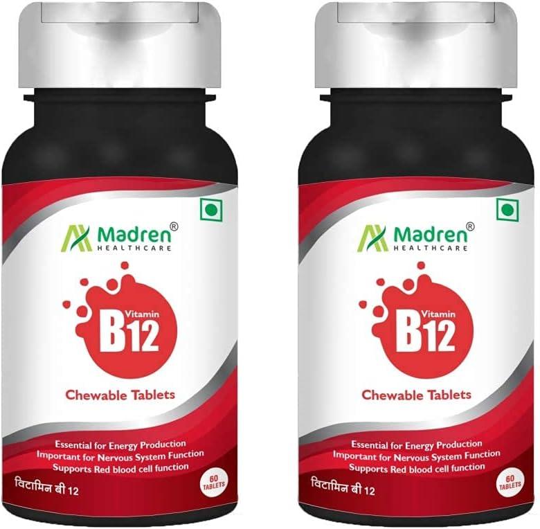 Knot Vitamin B12 Ranking TOP5 1500 mcg with Methylcobalamin Acid Su Popular Folic and