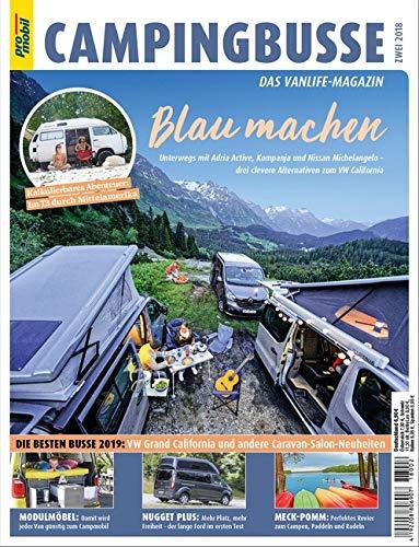 pro mobil Extra Campingbusse: Das Vanlife Magazin - Heft 02/2018