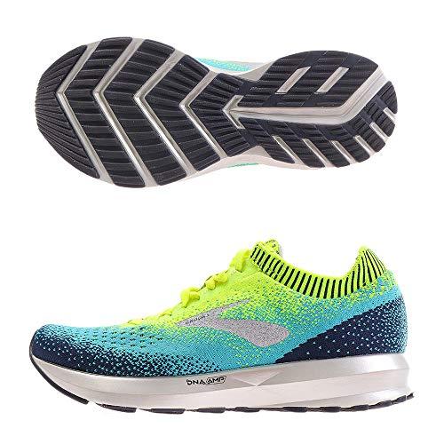 Brooks Womens Levitate 2 Running Shoe - Nightlife/Blue/Navy - B - 6.0