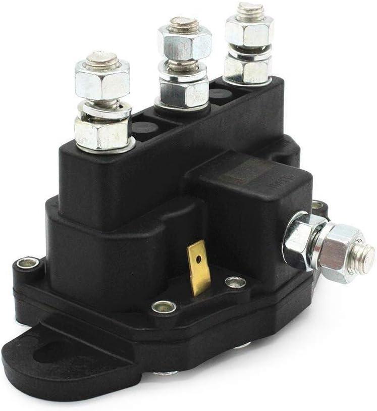 DJY-JY - Interruptor de solenoide de marcha atrás, motor de cabrestante para ATV, polaridad invertida, contactor de CC, relé de 12 voltios para la industria