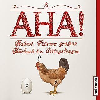 Aha! Hubert Filsers großes Hörbuch der Alltagsfragen Titelbild