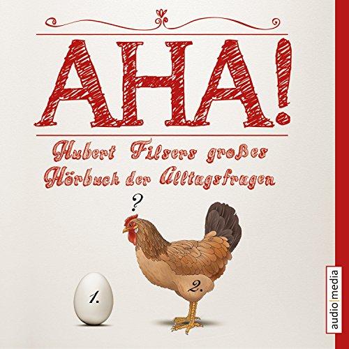 Couverture de Aha! Hubert Filsers großes Hörbuch der Alltagsfragen