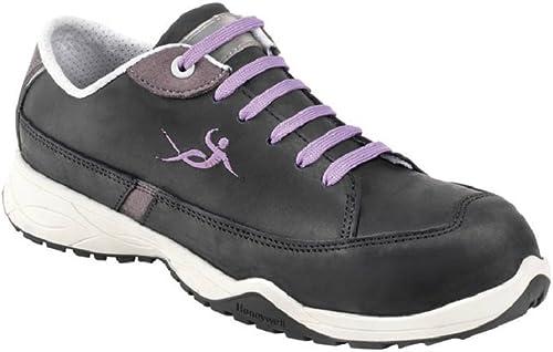 Honeywell 6551601-39 7 Chaussures de Sécurité Cocoon Cosy noir, S3 HI CI SRC, Pointure 39