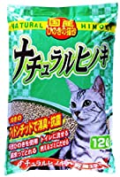 常陸化工 国産ひのきの猫砂 ナチュラルヒノキ 12L