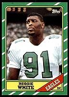 1986 Topps #275 Reggie White Near Mint RC Rookie Eagles