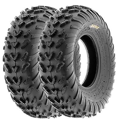 SunF Sport ATV Quad Tires 20 23 4 PR A007 (Set pair of 2)