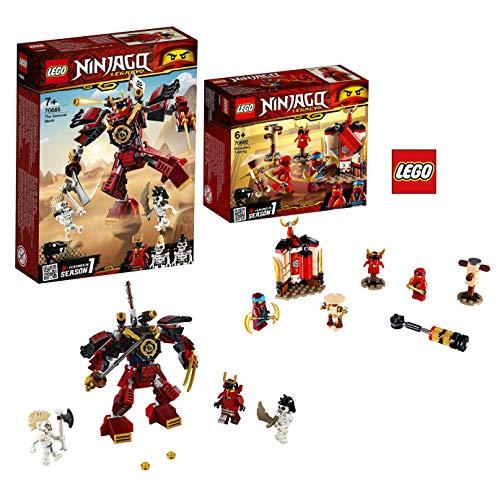 LEGO Ninjago 70665 Samurai-Roboter Ninjago 70680 Ninja Tempeltraining