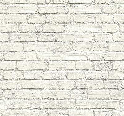 Vintage Charm Brick Wallpaper