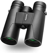 12x42 Roof Prism Binoculars for Adults, HD Professional Campact Binoculars for Bird Watching Travel Hunting Sports Concerts- BAK4 Prism FMC Lens with Strap Carrying Bag