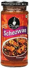 ,INSTANT FOOD,SAUCE CHING'S SECRET Schezwan Hot Sauce 250G