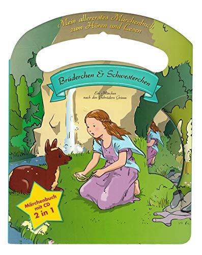 Mein allerliebstes Märchenbuch Brüderchen und Schwesterchen mit Tragegriff und Audio CD