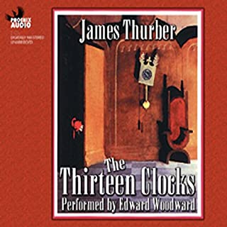 The Thirteen Clocks audiobook cover art