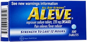 100-Count Aleve Pain Reliever/Fever Reducer Tablets