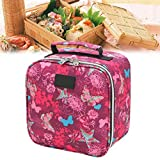 Durable Tragbare Kühltasche Tragetasche 4L Lunch Bag Picknick-Beutel Bento Tasche Cooler Firm