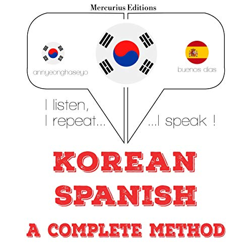 Korean – Spanish. A complete method cover art