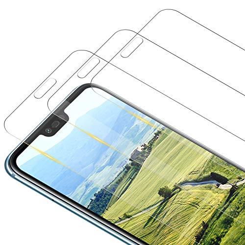 RIIMUHIR [3 Pièces] Verre Trempé pour Huawei Honor 10 Protection d'écran, 9H Dureté, HD Transparence, Ultra Résistant aux éraflures Vitre Tempered Film Protecteur Ecran