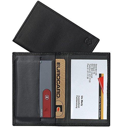 Victorinox 4.0873.V Zubehör Swiss Card Etui für SwissCard aus Kunstleder, schwarz, S