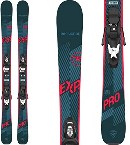 Rossignol Experience Pro Skis w/Look Kid-X 4 Bindings Kids Sz 140cm Black