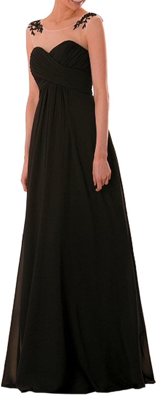 Avril Dress Aline Lace Applique Sleeveless Evening Party Dress SeeThrough