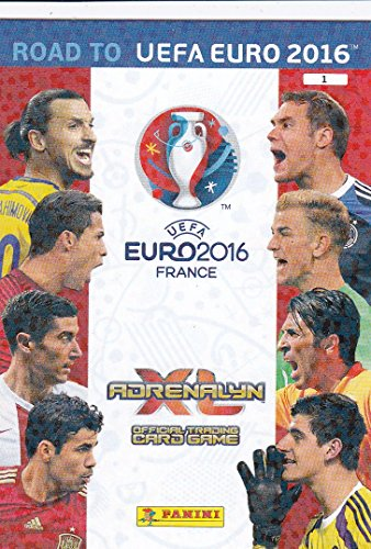Panini Adrenalyn XL Road to UEFA Euro 2016 route à UEFA Euro 2016 Logo